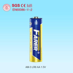 1.5V Farer Super Alkaline Dry Battery (Lr6 AA, Am-3) pictures & photos