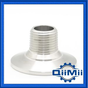 Sanitary Stainless Steel Pipe Fitting Clamp to Thread Adaptor pictures & photos