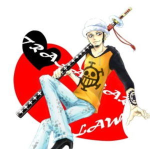 One Piece/Trafalgar Law Sword/Anemi Sword Cartoon Sword pictures & photos