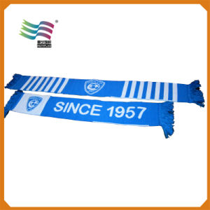 Factory Production Custom Cotton Football Scarves Thanksgiving Football 2016 pictures & photos