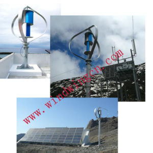400W Vertical Axis Wind Energy Generator with Ce pictures & photos
