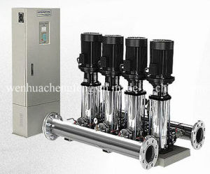 Variable Conversion Water Supply System with PLC Control pictures & photos