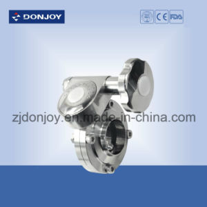 Stainless Steel Butterfly Valve for Food, Sanitary Using pictures & photos