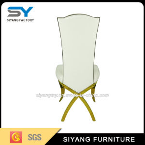 Dining Furniture Banquet Chair Gold Steel Chair Hotel Chair pictures & photos