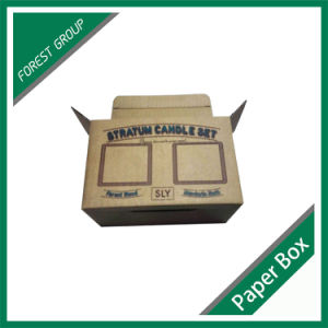 Custom Made Printed Paper Carton Box with Handle pictures & photos