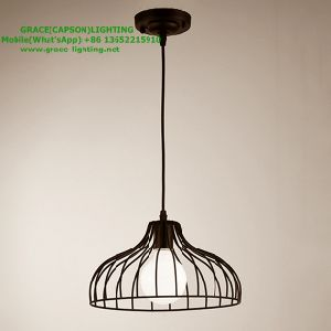 Decorative Iron Track Hotel Restaurant Pendant Light (GD-623-1) pictures & photos