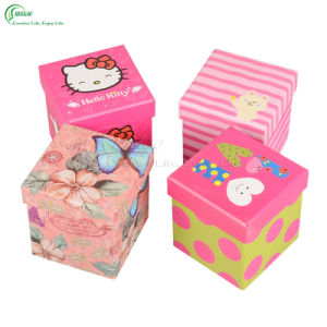 Customized Printing Square Gift Paper Boxes for Apple Packing (KG-PX077)