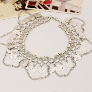 Fashion Coin Tassel Collar Necklace Jewelry pictures & photos