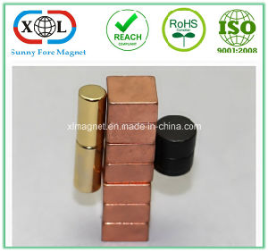 Gold Plating Rare Earth Magnet pictures & photos