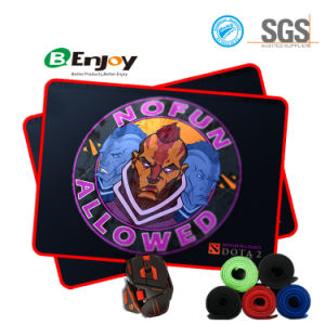 Stitched Edge Mousepad with Custom Design Logo for Gaming pictures & photos