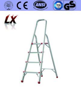 En131 4 Steps Aluminum Household Ladder pictures & photos