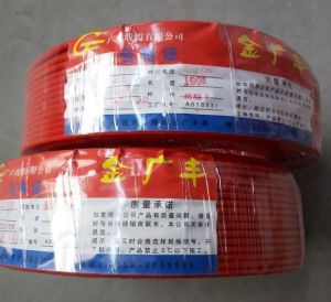 Nh-BV PVC Insulated Copper Electric Wire 450/750V pictures & photos