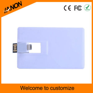 Card Shape OTG 3.0 USB Flash Drive Card USB Stick pictures & photos
