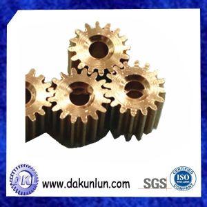 Customize High Precision Brass Spur Gear