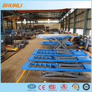 Ce Approval Hydraulic Wheel Alignment Scissor Lift pictures & photos