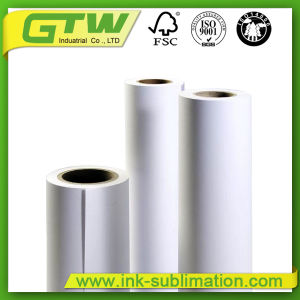 44′′ 90 GSM Fast Dry Sublimation Paper for Wide-Format Inkjet Printer pictures & photos