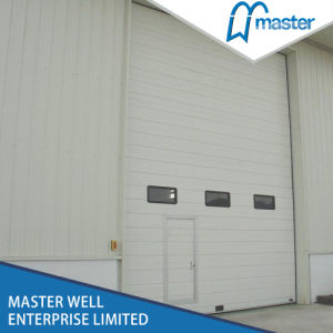 Factory Remote Control Overhead Industrial Solid Sectional Door Design pictures & photos