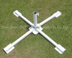 Foldable Cross Base for Beach Umbrella pictures & photos