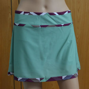 Custom Lady Tennis Skirt with Boyleg Shorts Inside/Skorts pictures & photos