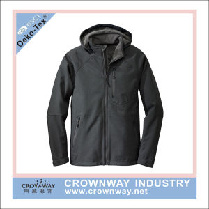 Winter Fleece Lined Waterproof Riding Softshell Jacket pictures & photos