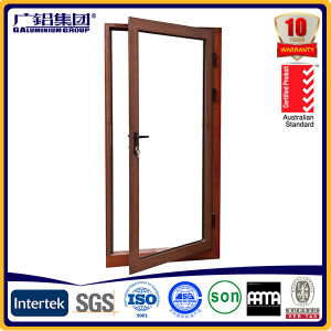 Interior Aluminium Glass Swing Hinged Doors pictures & photos
