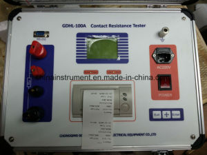 100A Contact Resistance Loop Resistance Tester pictures & photos