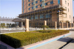 Haohan High-Quality Elegant Decorative Garden Security Residential Industrial Fence 48 pictures & photos