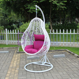 Leisure PE Rattan Swing Chair Outdoor pictures & photos