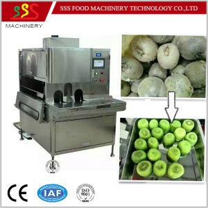 Fruit Apple Pear Peeling Peeler Pitting Cored Machine