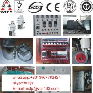 Blown PE Heat Shrinkable Film Extruder with Inverter Motor and Friction Rewinding Machine pictures & photos