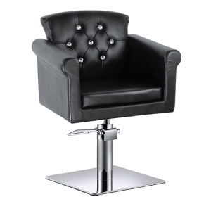 Hair Salon Adjustable Footrest Styling Chair Reclining Salon Styling Chairs pictures & photos