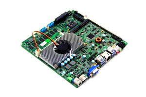 High Speed Mini Itx Motherboard Onboard Intel Haswell I5-4200u Onboard CPU 2* Rj-45 LAN Port Fan Motherboard pictures & photos