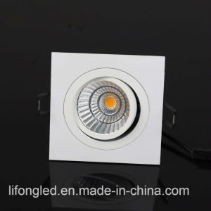 Shenzhen Manufacturer 9W Dimmable Square COB LED Downlight pictures & photos