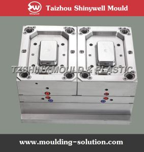 Plastic Thinwall Ice Cream Box Injection Mould pictures & photos