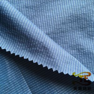 310t Nylon and Polyester Stripe Fabric for Jackets pictures & photos