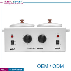 M502 Cheap Depilatory Wax Melt Warmer Burner Heater with Two Pots pictures & photos