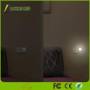 0.3W 110V 120V 220-240V Plug LED Night Light with Automatic Dusk to Dawn Light Sensor pictures & photos