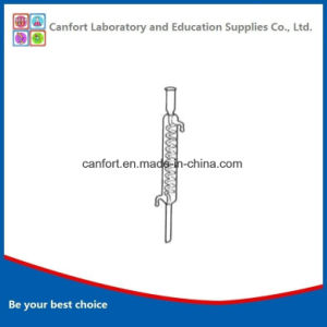 Laboratory Glassware Condensing Tube/Condenser Pipe with Coiled Inner Tube pictures & photos