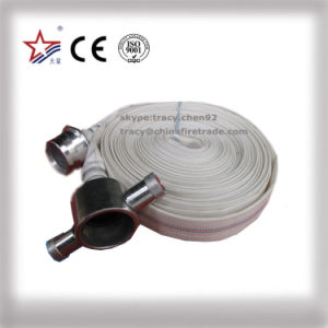 Synthetic Rubber Fire Fighting Hose with BS Coupling pictures & photos