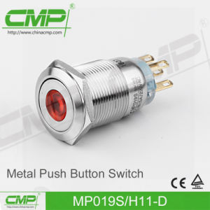 CMP 19mm Push Button Switch (MP19S/F11-D Ce, RoHS) pictures & photos