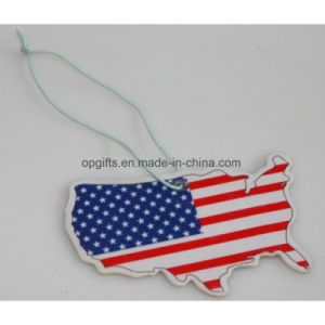 Air Freshener Wholesale Promotion Cheap Custom Hanging Paper Car Air Freshener pictures & photos