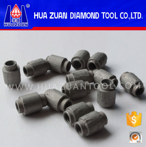 7.2mm Diamond Wire Saw Bead for Granite Profiling From Huazuan Diamond Tool pictures & photos