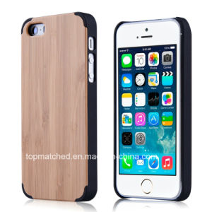 OEM Mobile Cover Forest Style PC Wood Phone Case for iPhone 7 Wood Case pictures & photos