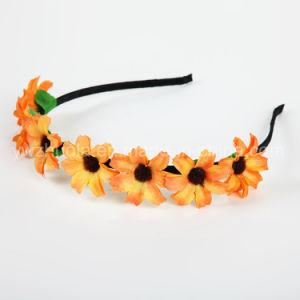 Sun Flower Headband Wreath for Decoration pictures & photos