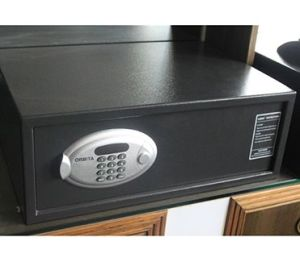 Orbita Security Digital Electronic Mini Deposit Hotel Safe, Money Box, Cash Box with Safe Lock Obt-2043MB pictures & photos
