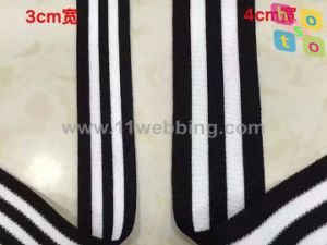 High Tenacity Cotton Knitted Elastic Webbing/Tape/Band pictures & photos