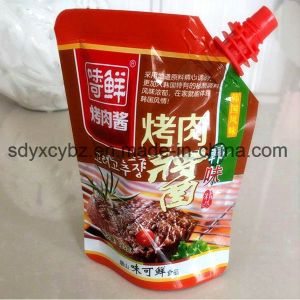 Jelly Stand up Spout Packaging Bag pictures & photos