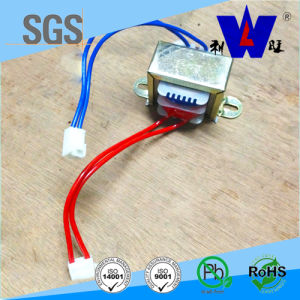 Input 220V Ei57 Silicon Steel Transformer with Lead Wire pictures & photos