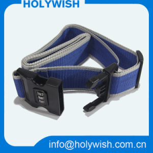 Adjustable Polyester Printing Luggage Strap with Custom Logo pictures & photos
