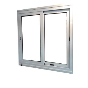Aluminium Frame Sliding Glass Window pictures & photos